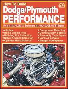 How to Build Dodge/Plymouth Performance for 273, 318, 340, 360