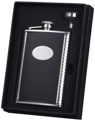 tux-2268gram-flask-set-in-pelle-nera
