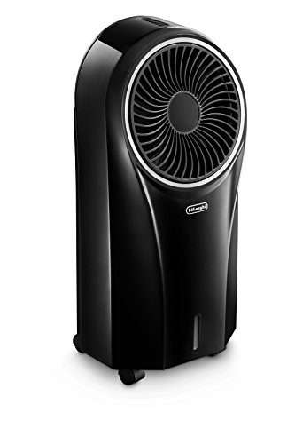De\'Longhi EV250.BK Verdunstungs-Klimagerät mit Ionisator Schwarz