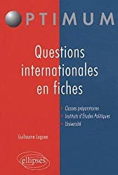 Les grandes questions internationales en fiches
