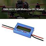 Footprintse Tester per analizzatore di energia corrente a tensione di potenza digitale Watt per modello RC: blu