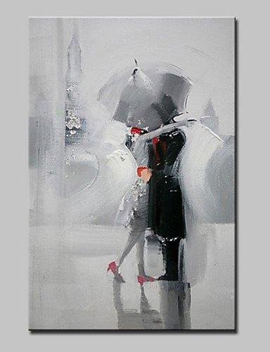 FPP Dipinta a mano Ritratti Dipinti ad olio,Modern Un Pannello Tela Hang-Dipinto ad olio For Decorazioni per la casa , with stretched frame-l , with stretched frame-l