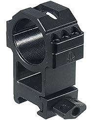 UTG Montageringe Utg 30mm Universal Hohes Profil - Mira de arma para caza, color negro
