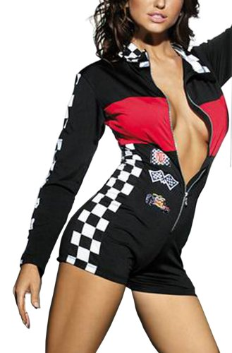 r-dessous Overall im Racing-Look
