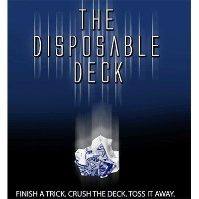 Disposable Deck 2.0 (blue) by David Regal by Blue Bikes Prods - David Regal -