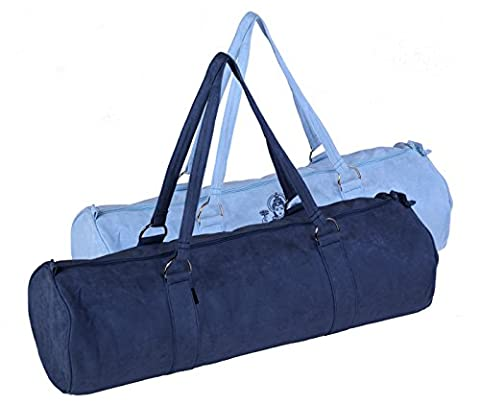 Yogatasche Style - Zip - Extra Big - Velour - 80 Cm Dark-blue Yogistar
