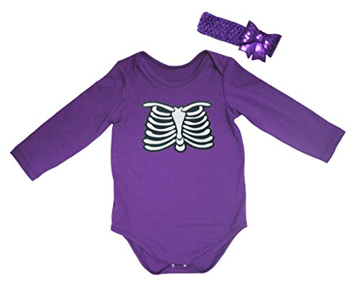 Petitebelle -  Body  - Bebè femminuccia Purple 12-18 Mesi