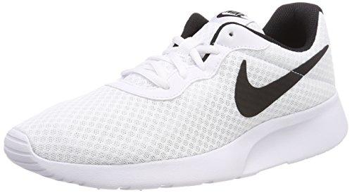Nike Tanjun, Zapatillas de Gimnasia para Hombre, Blanco (Whiteblack 101), 40 EU