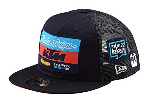 Troy Lee Designs Snapback Cap KTM Team Blau
