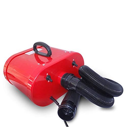 Haustier Hund Wasser Gebläse Doppel Motor High Power 2600W Rot Haustier Spezieller Haartrockner -