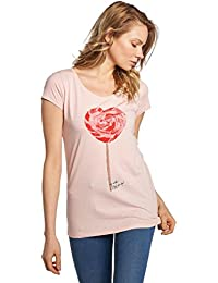 Fresh Made Mujeres Ropa Superior/Camiseta Basic