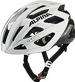 Alpina Unisex– Erwachsene VALPAROLA Fahrradhelm, White-Black, 51-56 cm