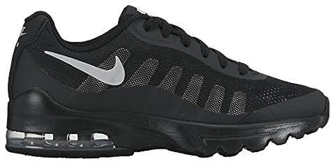 Nike Air Max Invigor (GS), Chaussures de Running Garçon, Noir (Black/Wolf Grey), 38 EU