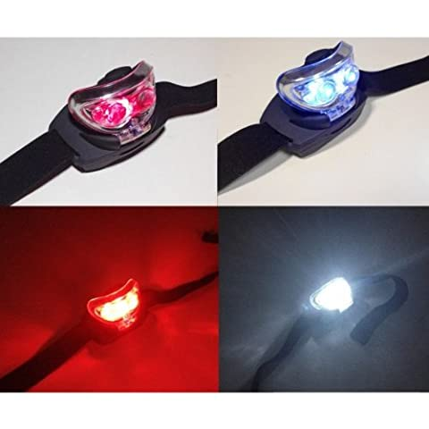 Red or White LED Multiposition Adjustable Head Torch ~ Ideal for Astronomy & Camping