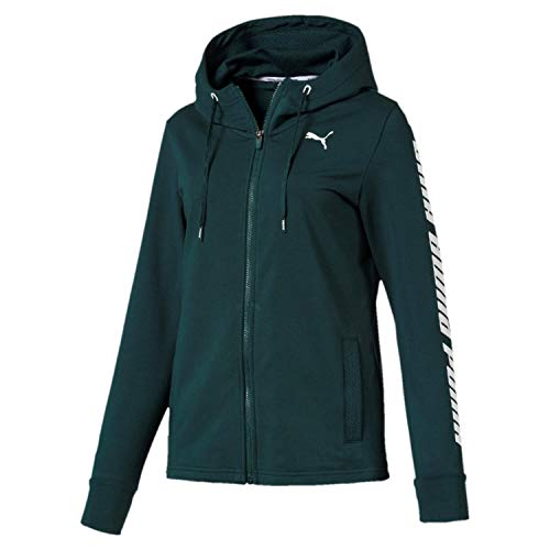 Puma Damen Modern Sports Hooded Jacket Sweatjacke Ponderosa Pine, M