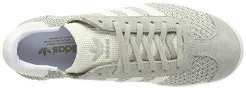 adidas Herren Gazelle PK Fitnessschuhe Grau (Sesame/Off White/Trace Green)