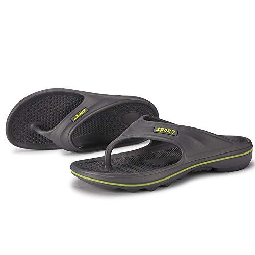 Zuyau ciabatte da spiaggia Uomo Infradito Men Sneakers Outdoor Sandalen Sommer Rutschfeste Slipper Flip-Flops Strandschuhe für männliche Erwachsene 11 (Elf Schlafanzug Erwachsene)