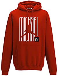Sudadera con Capucha Hoodie Airness 23 Writers Chicago All Star Red XL red