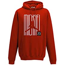 Sudadera con Capucha Hoodie Airness 23 Writers Chicago All Star Red S red