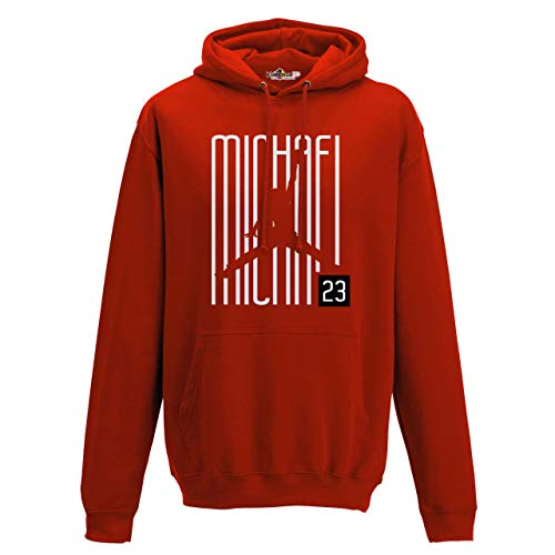 6f4f4a4cfe0299 Sudadera con Capucha Hoodie Airness 23 Writers Chicago All Star Red S red