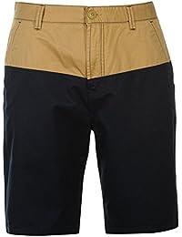L Ca Shorts Grün Gestreift Gr
