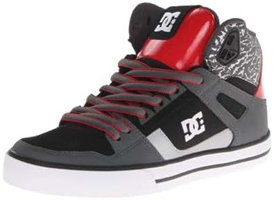 DC Shoes Spartan High Wc M Shoe Ksr, Chaussures de skateboard homme - Gris (Dk Shdw/Tru Red), 41 EU
