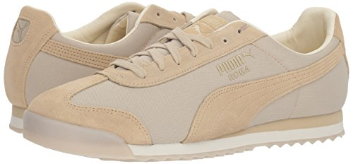 PUMA Men s Roma Summer Sneaker  Pebble-Whisper White  10 5 M US