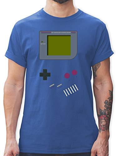 Nerds & Geeks - Gameboy - M - Royalblau - L190 - Herren T-Shirt und Männer Tshirt (Lustig 2019 Kostüm Ideen)