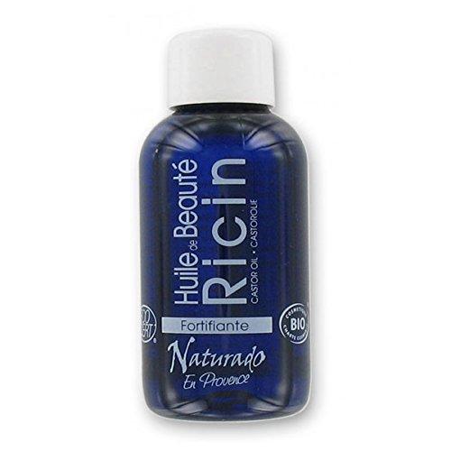 Naturado Huile de Ricin fortifiant ongles et cheveux 50ml