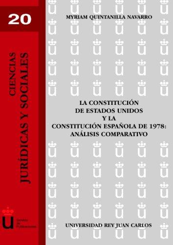 La Constitución De Los Eeuu Y La Constitución Española De 1978