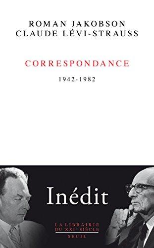 Correspondance - 1942-1982 (LIB DU .XXI. S.) par Claude Lévi-Strauss