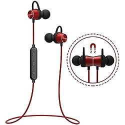 Auriculares Bluetooth Deportivos,Mpow IPX7 Auricular Magnético Correr In ear con manos libres, Bluetooth 4.1 APTX in ear con micrófono, 7 horas de reproducción para iphone7 Huawei ect.