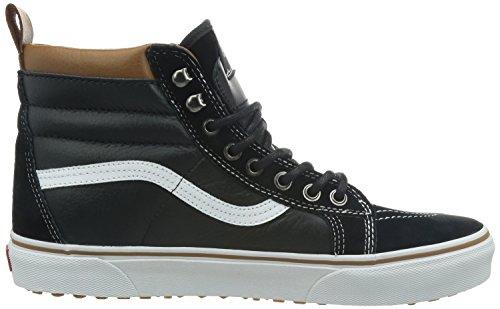 Sneakers black Vans Erwachsene true Hohe White Schwarz Mte Unisex Sk8 hi UIxYq8U