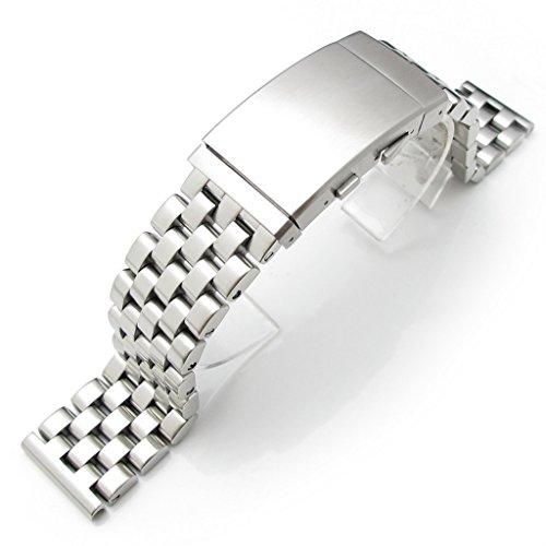 20mm-super-ingnieur-dextrmit-droite-en-acier-inoxydable-solide-watch-band-fermoir-plonge-brosse