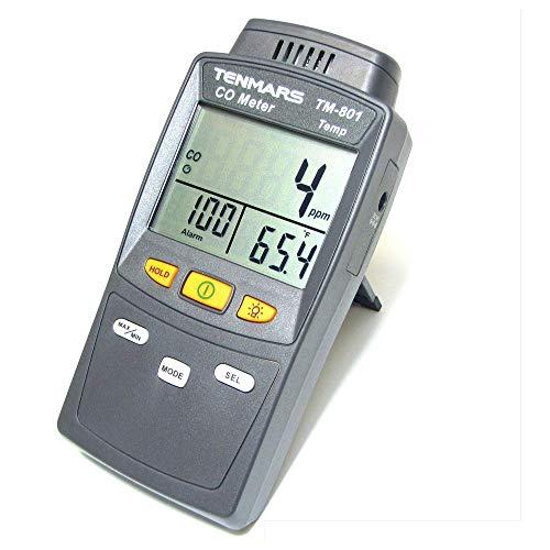 Cablematic Kohlenmonoxid-Analysator TM-801 Temperatur