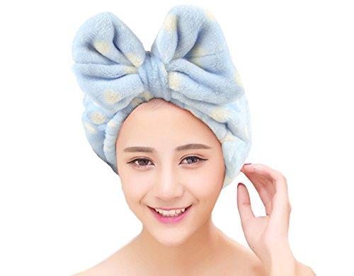 Cimary Make-up kosmetische Dusche elastisches Haar-Band Stirnband ,Bogen Stirnband ,weiches Gesicht waschen Elastic Bow Handtuch (Weiche Haar Gesichts)