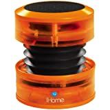 Ihome iHM60 Mini enceinte portative rechargeable Orange Neon