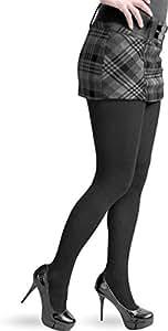 2 x Damen Thermostrumpfhose in verschiedenen Farben wählbar! Farbe schwarz Größe 36-38
