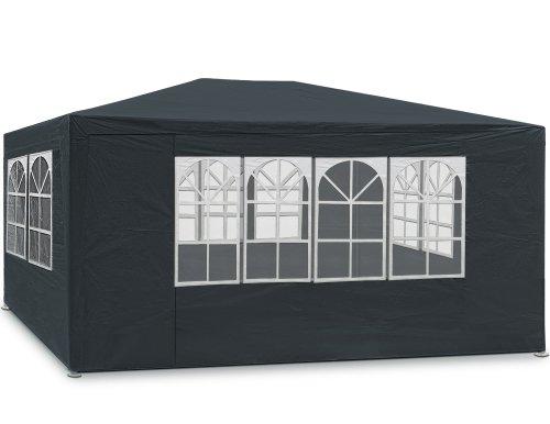 Tonnelle Maui - 3x4m - Anthracite - Barnum revêtement imperméable - Pavillon Tente de jardin