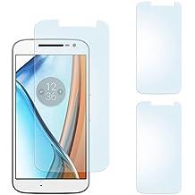 2x Lenovo Moto G4 Schutzfolie Matt Display Schutz [Anti-Reflex] Screen protector Fingerprint Handy-Folie matte Displayschutz-Folie für Motorola Moto G4/G4 Plus Displayfolie