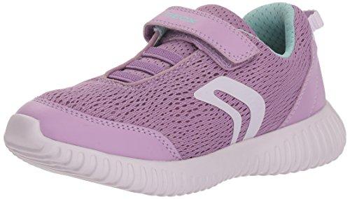 Geox Mädchen J Waviness Girl C Sneaker, Violett (Lilac), 30 EU