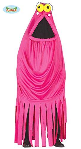 Pinkes Monster Kostüm für Erwachsene Gr. M/L, Größe:L