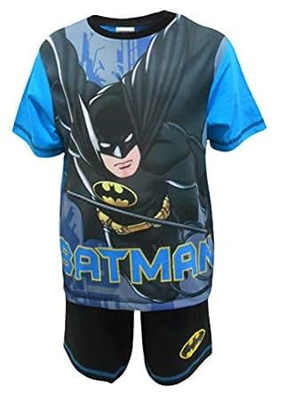 Batman Caped Crusader Ragazzi Shortie Pigiama 4-5 anni