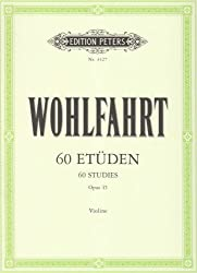 60 Etudes Opus 45 - violon - édition Peters