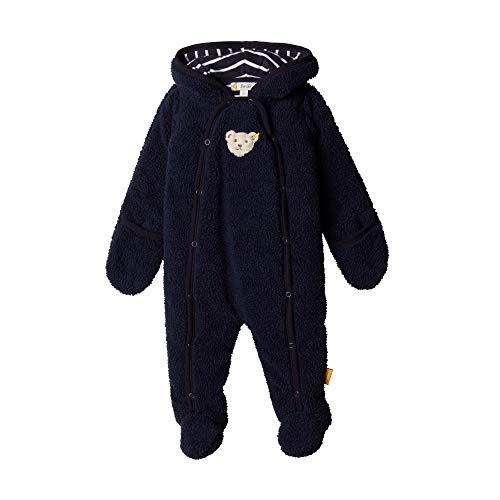 Steiff Baby-Jungen Einteiler Spieler, Blau (BLACK IRIS 3032), 62 (Herstellergröße:62)