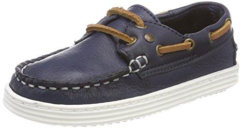Bisgaard Unisex-Kinder Schnürschuhe Bootsschuhe, Blau (Blue), 37 EU