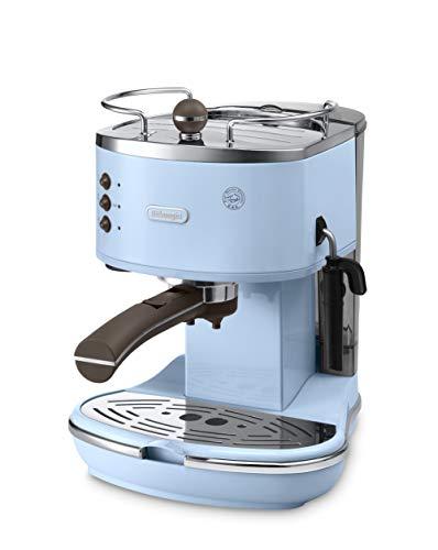 DèLonghi ECOV311.AZ Vintage Icon Espressomaschine mit Pumpe, Blau
