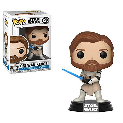 Pop! Star Wars The Clone Wars - Figura de Vinilo OBI Wen Kenobi