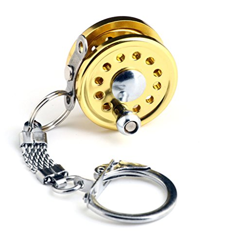 miniature-fishing-reel-key-ring-key-chain-keyring-gold