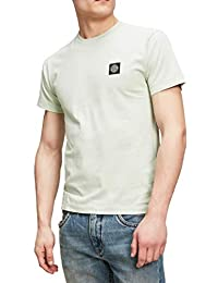 Stone Island - T-Shirt Light Green with Patch b40d8360c
